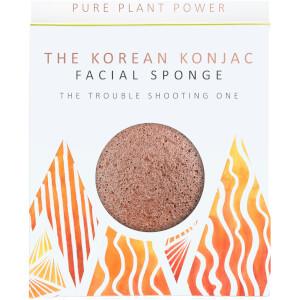 魔芋海绵基本元素系列洁面海绵 | 火 | 净化火山灰 30g