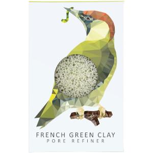 魔芋海绵山林系列纯微孔魔芋海绵 | 啄木鸟 | 绿泥 12g