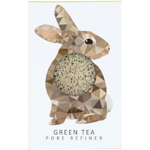 魔芋海绵山林系列纯微孔魔芋海绵 | 兔子 | 绿茶 12g