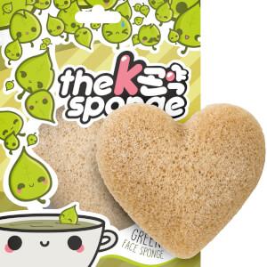 魔芋海绵 K-Sponge 心形海绵 - 绿茶 12g