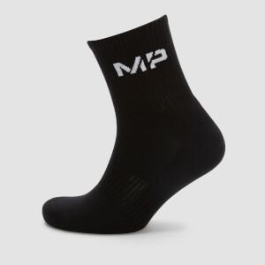 男士船型袜 - 黑色