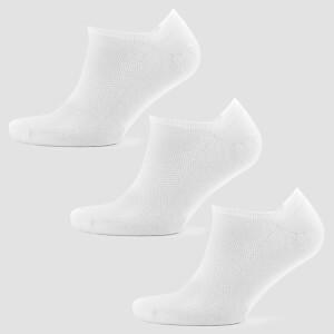 男士踝袜 - 白色