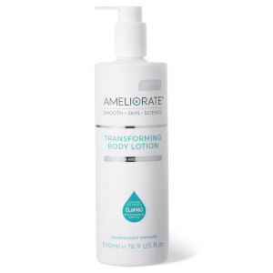 AMELIORATE Fragrance Free Transforming Body Lotion 500ml
