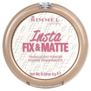 Rimmel 即效定妆修容粉丨半透明色