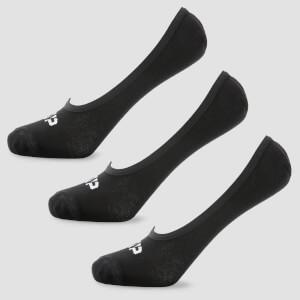 男士隐形袜- 黑色