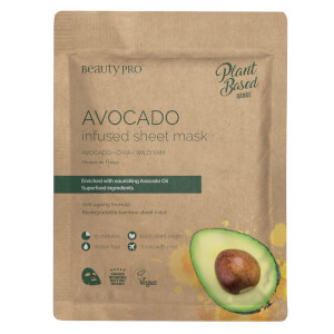 BeautyPro Avocado Infused Sheet Mask 22ml