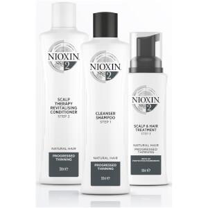 NIOXIN 护发三部曲 2 头皮焕活护发素 1000ml