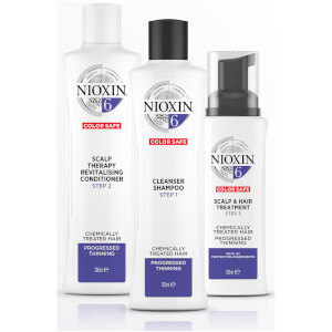 NIOXIN 护发三部曲 6 头皮焕活护发素 1000ml | 适合日渐稀疏的经化学处理的发质