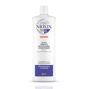 NIOXIN 护发三部曲 6 头皮焕活护发素 1000ml   适合日渐稀疏的经化学处理的发质