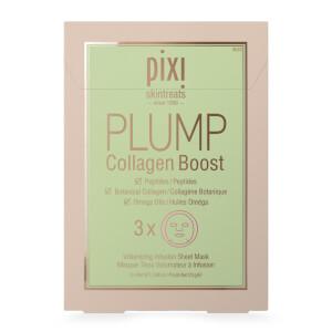 PIXI PLUMP Collagen Boost Sheet Mask (Pack of 3)