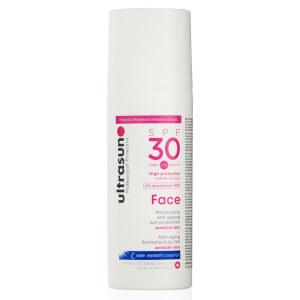 Ultrasun的面部抗衰老乳液SPF 30