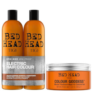 TIGI Bed Head 染色发质洗发水/护发素/发膜套装