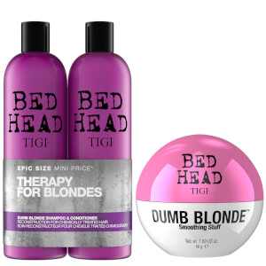 TIGI Bed Head 金发洗发水/护发素/造型霜套装