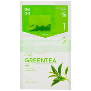 Holika Holika 即泡茶包面膜 | 绿茶