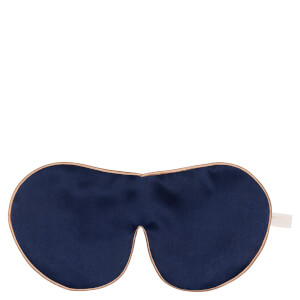 Holistic Silk 单束带真丝薰衣草眼罩 | 海军蓝
