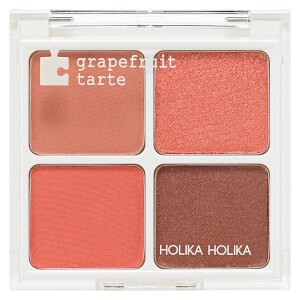 Holika Holika Piece Matching Palette - 02 Grapefruit Tarte 6g