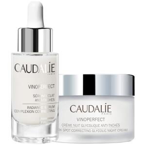 Caudalie Radiance Duo (Serum 30ml and Night Cream 50ml)