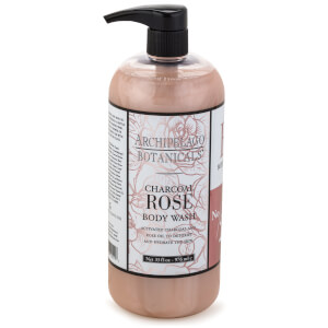 Archipelago Botanicals Charcoal Rose Body Wash 975ml