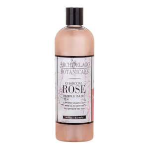 Archipelago Botanicals Charcoal Rose Bubble Bath 16oz