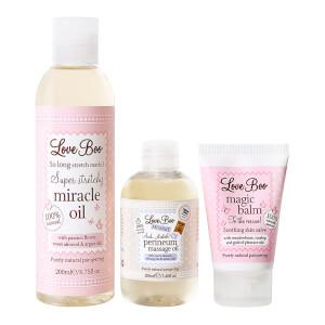 Love Boo 准妈妈活肤套装丨内含 200ml 奇迹油、会阴护理油和魔力香膏