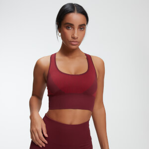 Impact Seamless 无缝系列 女士运动内衣 - 红色