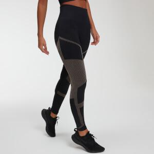 Impact Seamless 无缝系列 女士紧身健身裤 - 黑色