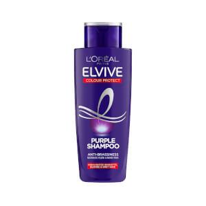 L'Oréal Paris Elvive Colour Protect Anti-Brassiness Purple Shampoo 200ml