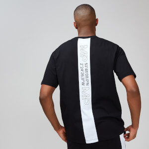 Rest Day 男士设计款 T 恤 - 黑色