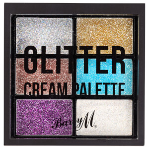 Barry M Cosmetics Glitter Cream Palette 2