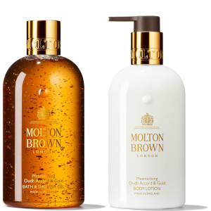 Molton Brown 沉香金箔套装