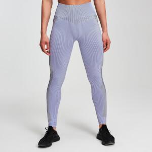 Seamless 无缝系列 女士对比色紧身裤 - 淡紫色