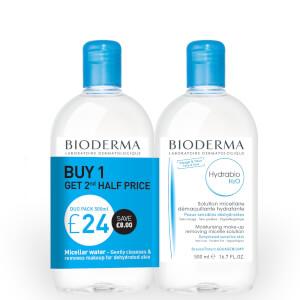 Bioderma 水润保湿洁肤水 2 x 500ml
