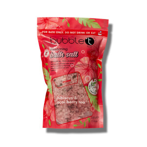 Bubble T Bath Salts Hibiscus & Acai Berry Tea 500g