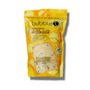 Bubble T Bath Salts Lemongrass & Green Tea 500g