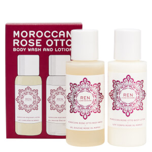 REN Clean Skincare Moroccan Rose Mini Body Duo Kit