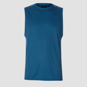 MP Men's Training Grid Tank Top - Pilot Blue