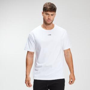 男士休闲T恤 - 白