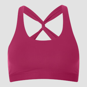 MP Women's Power Mesh Sports Bra - Crushed Berry