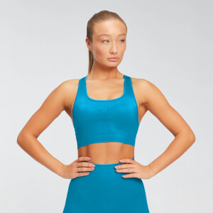 Myprotein Shape Seamless Ultra Women's Bra - Sea Blue