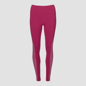MP Women's Power Marl Leggings - Crushed Berry