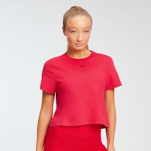 MP女士必备系列短款T恤 - 红