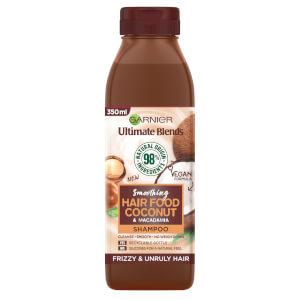 Garnier 秀发营养椰子柔润洗发水 350ml | 适合毛糙发质