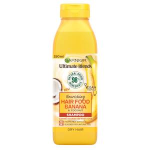 Garnier 秀发营养香蕉滋养洗发水 350ml | 适合干性发质