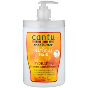 Cantu Shea Butter for Natural Hair Hydrating Cream Conditioner – Salon Size 25 oz