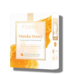 FOREO UFO Manuka Honey Mini Revitalising Face Mask (6 Pack)