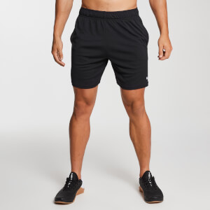 Essential Lightweight Jersey Training Shorts - Black