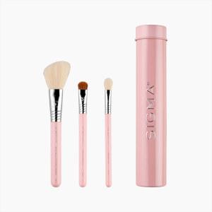 Sigma Beauty Essential Trio Brush Set - Pink