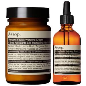 Aesop Mandarin Facial Cream and Lightweight Serum Duo