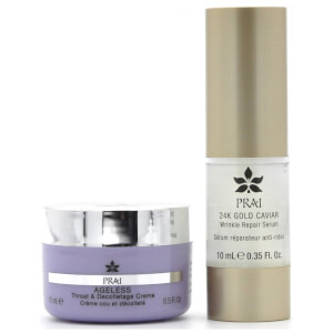 PRAI Daytime Booster Set for Face and Neck