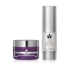 PRAI Nightime Booster Set for Face and Neck
